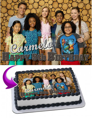 Bunk D Edible Image Cake Topper Personalized Birthday Sheet Decoration Custom Party Frosting Transfer Fondant
