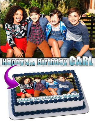 Andi Mack Edible Image Cake Topper Personalized Birthday Sheet Decoration Custom Party Frosting Transfer Fondant
