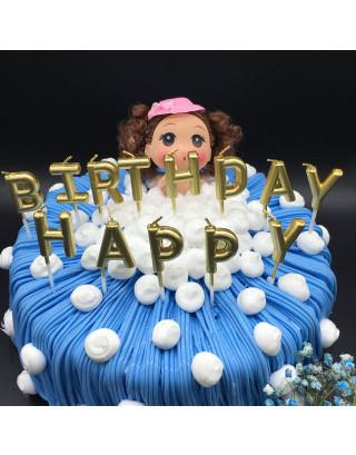 Birthday Letter Cake Candles - Funny Birthday Candles Letters - Birthday Candles