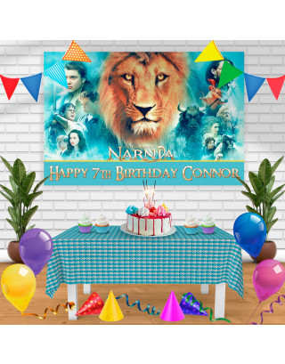 The Chronicles of Narnia Birthday Banner Personalized Party Backdrop Decoration