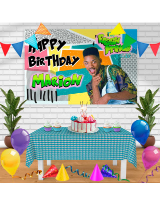the fresh prince of bel air Birthday Banner Personalized Party Backdrop Decoration