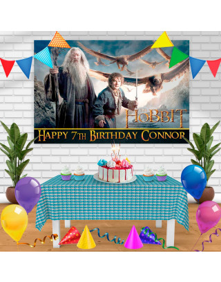 The Hobbit Birthday Banner Personalized Party Backdrop Decoration