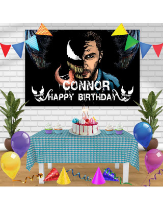 vemon Birthday Banner Personalized Party Backdrop Decoration