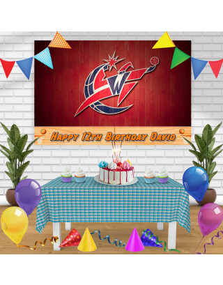 WIZARDS Birthday Banner Personalized Party Backdrop Decoration