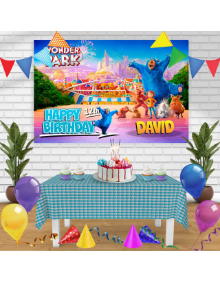 Wonder Park Birthday Banner Personalized Party Backdrop Decoration