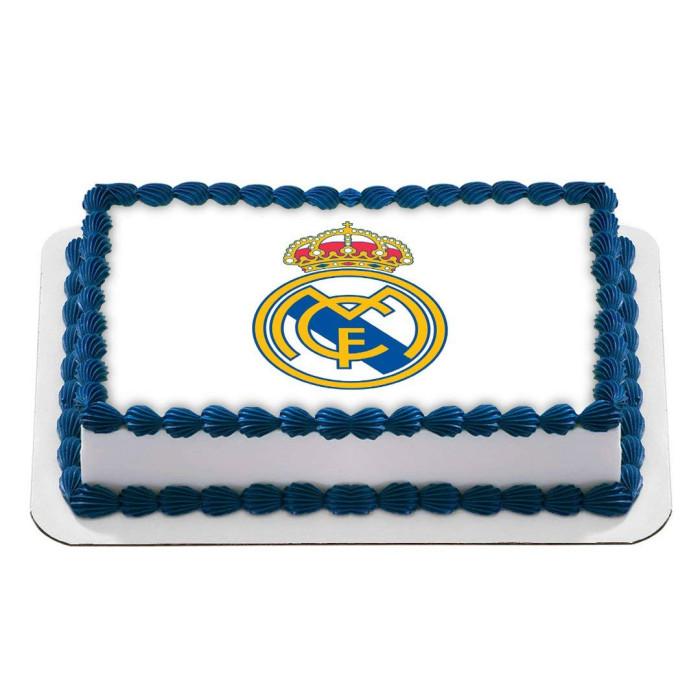 Logo Edible Image REAL Icing Cake Topper